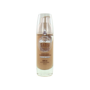 Dream Satin Liquid Foundation - 45 Light Honey