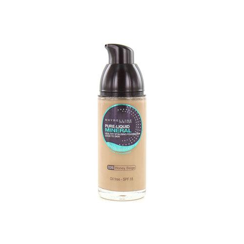 Maybelline Pure Liquid Mineral Foundation - 026 Honey Beige