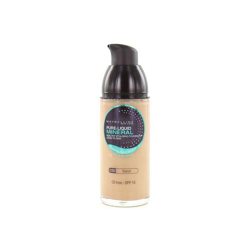 Maybelline Pure Liquid Mineral Foundation - 030 Sand