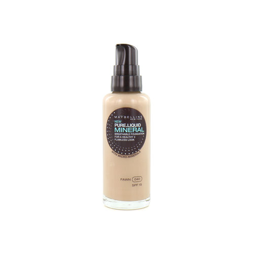 Maybelline Pure Liquid Mineral Foundation - 040 Fawn