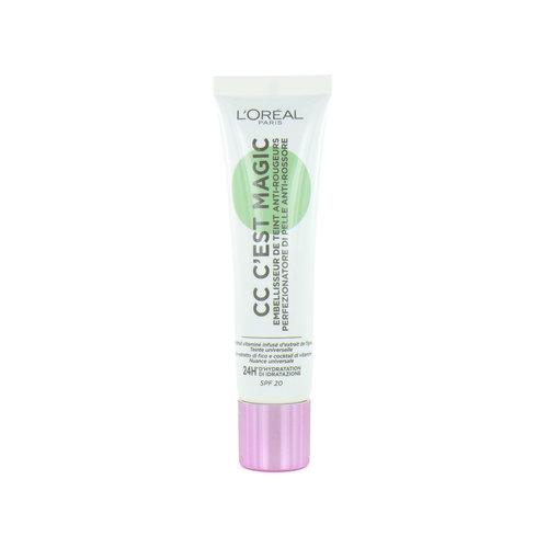 L'Oréal C'est Magic CC Cream - Anti-Redness
