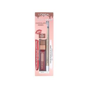 Chocolate Kisses Lip Kit - 864 Tasty Ruby - 001 Transparent (Duitse versie)