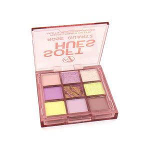 Soft Hues Pressed Pigment Oogschaduw Palette - Rose Quartz