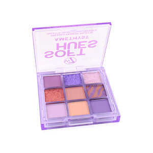Soft Hues Pressed Pigment Oogschaduw Palette - Amethyst
