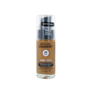 Colorstay Foundation With Pump - 400 Caramel (Oily Skin)