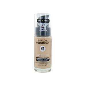 Colorstay Foundation With Pump - 240 Medium Beige (Oily Skin)