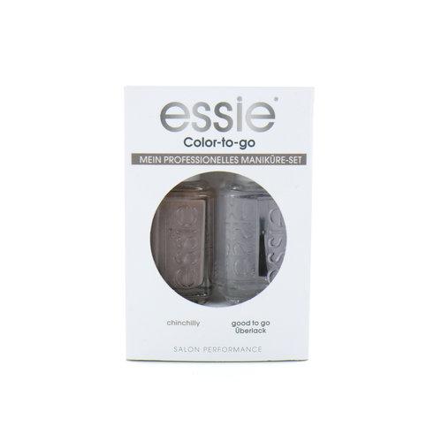 Essie Color-To-Go Nagellak - Chinchilly - Good To Go Topcoat (Duitse versie)
