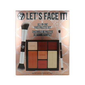 Let's Face It All-In-One Face Palette Set Cadeauset
