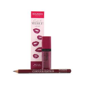 Ooh La Velvet Lipstick & Lipliner - 14 Plum Plum Girl