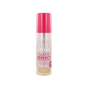 Skin Define Matte Perfect Foundation - Beige Flush