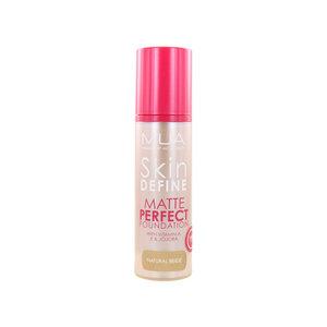 Skin Define Matte Perfect Foundation - Natural Beige