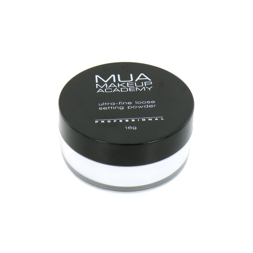 MUA Ultra-Fine Loose Setting Powder - Transparant