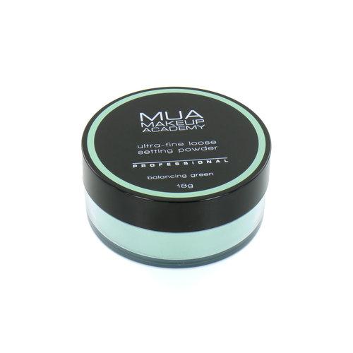 MUA Ultra-Fine Loose Setting Powder - Balancing Green