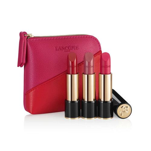 Lancôme Travel Exclusive Cadeauset - 3 L'Absolu Rouge