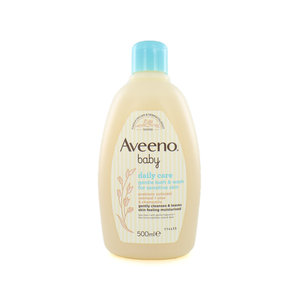 Daily Care Baby Gentle Bath & Wash - 500 ml (voor gevoelige huid)