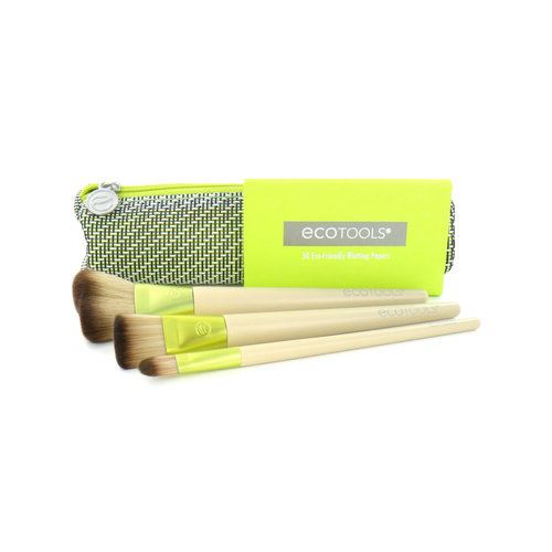 Ecotools Travel And Glow Everyday Must-Have Brush Set