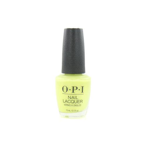 O.P.I Neon Nagellak - PUMP Up The Volume