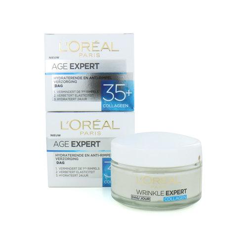 L'Oréal Age Expert 35+ Dagcrème - Collageen (Set van 2)