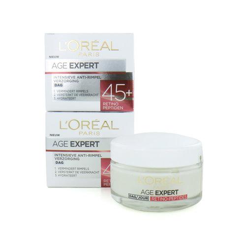 L'Oréal Age Expert 45+ Dagcrème - Retino Peptiden (Set van 2)
