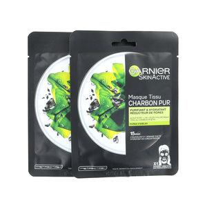 SkinActive Charcoal Masker - 2 x 28 gram (Set van 2)