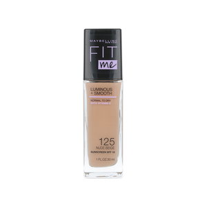 Fit Me Luminous + Smooth Foundation - 125 Nude Beige