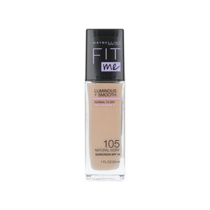 Fit Me Luminous + Smooth Foundation - 105 Natural Ivory