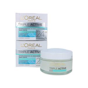 Triple Active 24H Dagcrème - 50 ml (2 stuks)