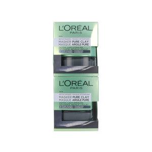 Pure Clay Detox Masker - 50 ml (2 stuks)