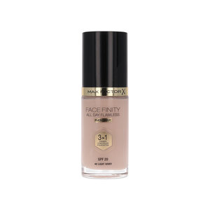 Facefinity All Day Flawless 3 in 1 Flexi Hold Foundation - 40 Light Ivory