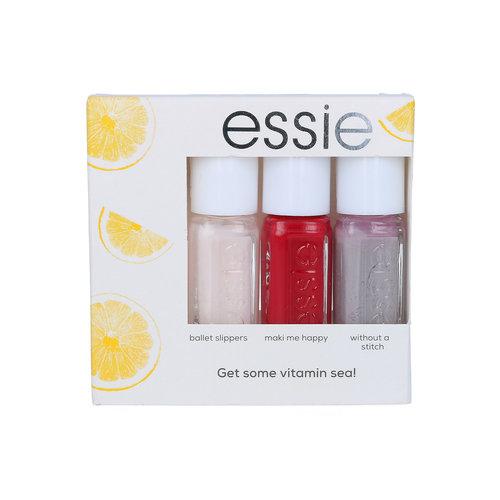 Essie Get Some Vitamin Sea! Mini Nagellak Cadeauset - 3 x 5 ml