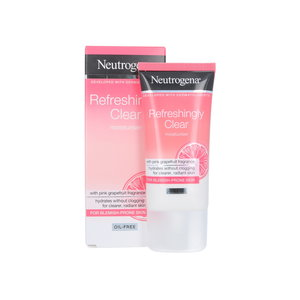 Refreshingly Clear Oil-Free Moisturizer - Pink Grapefruit