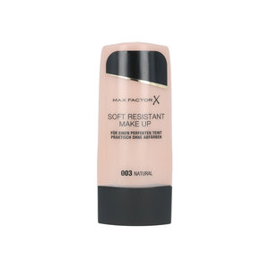 Soft Resistant Make Up Foundation - 003 Natural (Duitse versie)