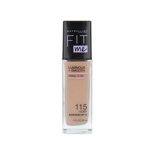 Fit Me Luminous + Smooth Foundation - 115 Ivory