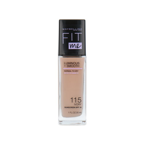 Maybelline Fit Me Luminous + Smooth Foundation - 115 Ivory