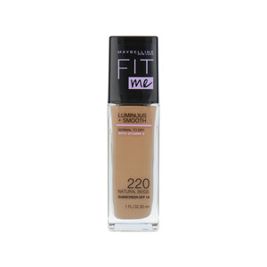 Fit Me Luminous + Smooth Foundation - 220 Natural Beige