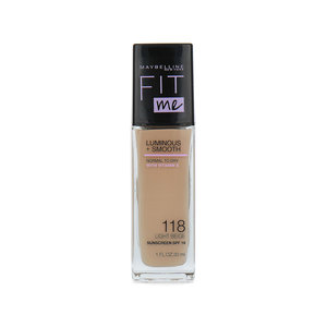 Fit Me Luminous + Smooth Foundation - 118 Light Beige