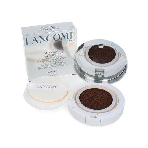 Lancôme Miracle Cushion Compact Foundation - 555 Suede C