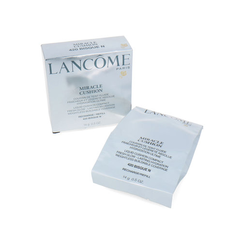 Lancôme Miracle Cushion Compact Foundation - 420 Bisque N (Refill)