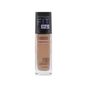 Fit Me Luminous + Smooth Foundation - 130 Buff Beige