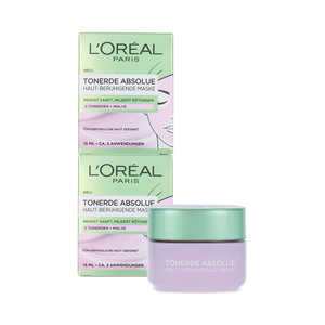 Pure Clay Soothing Masker - 2 x 15 ml (2 stuks)