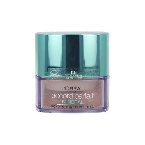 L'Oréal Accord Parfait Mineral Loose Powder - 3.N Beige Crème