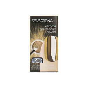 Chrome Gel Manicure Powder Nagellak - 73018 Gold