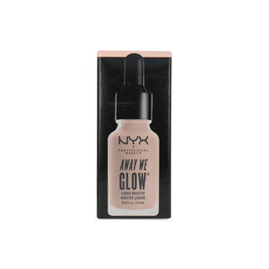 Away We Glow Liquid Booster Highlighter - Glazed Donuts