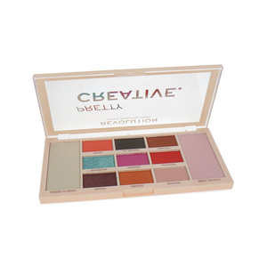 Pretty Creative Makeup Pigment Palette