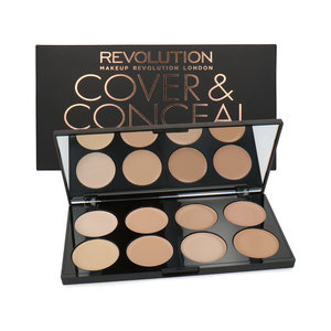 Cover & Conceal Cream Palette - Light
