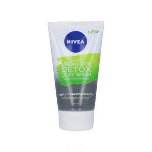 3-in-1 Urban Skin Detox Clay Wash-Scrub-Mask