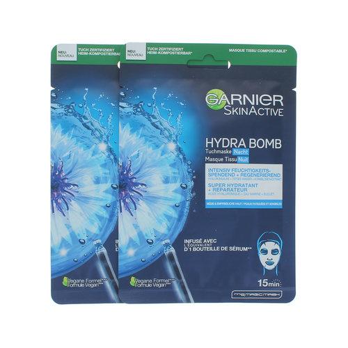Garnier Skin Active Hydra Bomb Nacht Masker (set van 2)