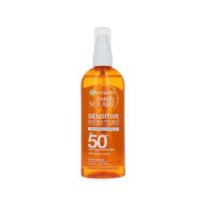 Ambre Solaire Sensitive Advanced Oil Zonnebrand Spray (SPF 50+)
