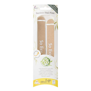 Bamboo Nail Files