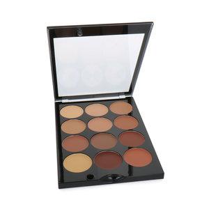 Correct & Conceal Palette - Dark (doosje met krasjes)